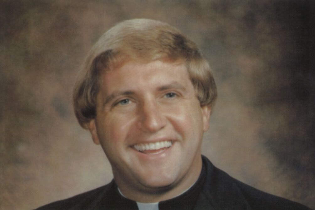 Accused Monsignor Michael A Harris