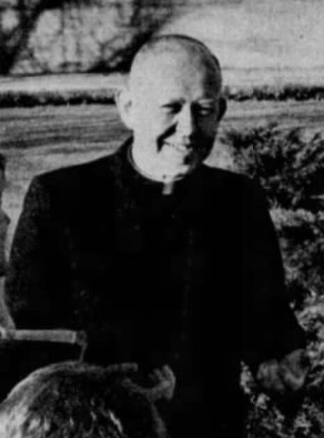 Accused Priest Jack Leary