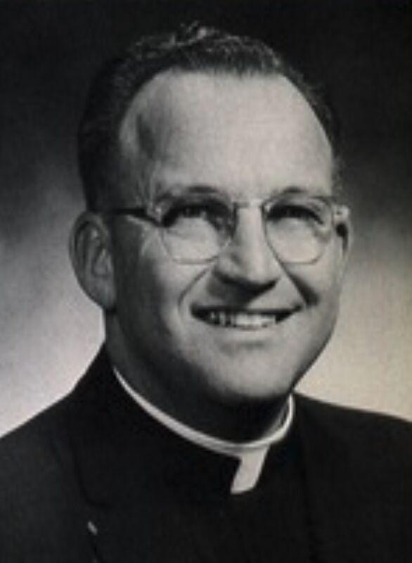 Accused Priest John W. McDonald