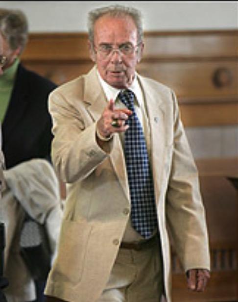 Accused Priest Gerard McMahon