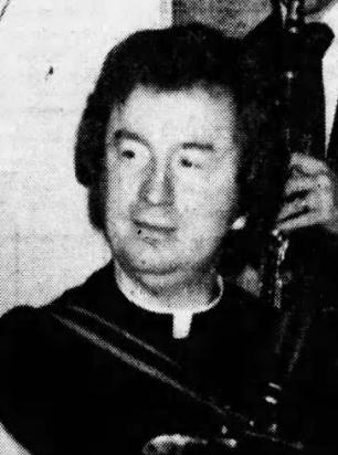 Accused Priest Fr Brendan Williams