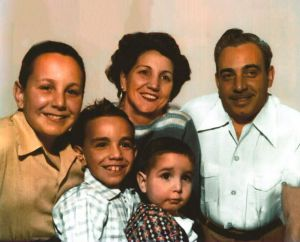 Photo of the Pulizzi Family